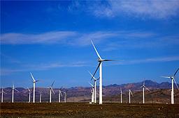 我国最大风电特许权项目发电达一亿千瓦时
